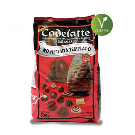 Chocolate Codeland Premium SEMI AMARGO x 500gr