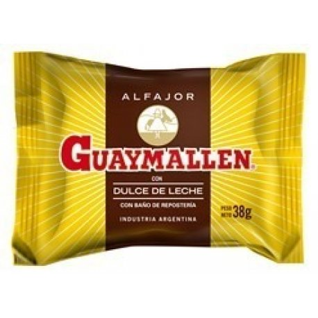 Alfajor Guaymallén Simple Negro x 40u