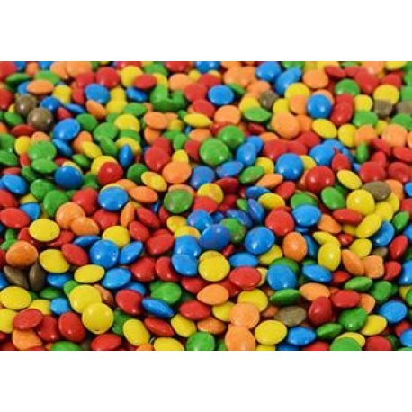 Confites Mini Lentejas de Chocolate Multicolor Chook x 1kg