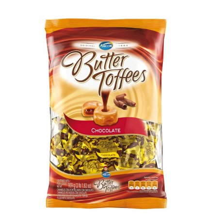 Caramelos Butter Toffees Chocolate x 825gr