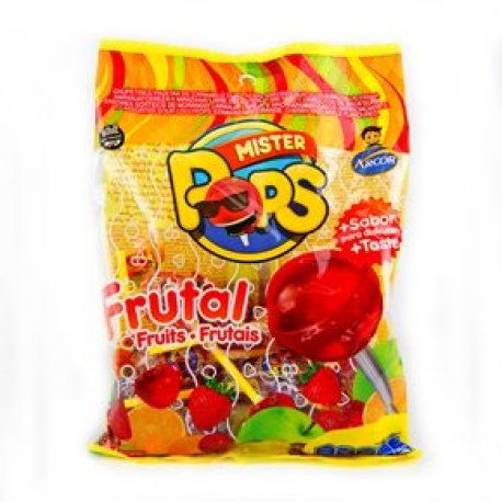 Chupetin Mr Pop Frutal x 50u