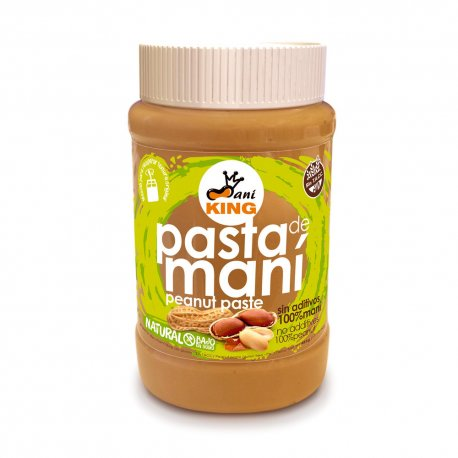 Pasta de Maní Natural King x 485gr