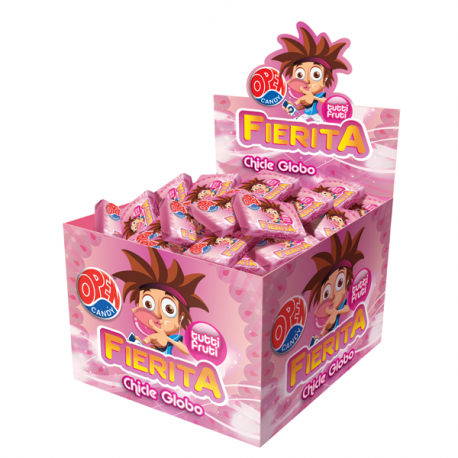 Chicle Fierita Tutti Frutti x 100u